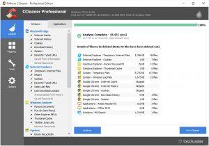 CCleaner Pro Crack 5.73.8130 + License Key 2021 Full Version