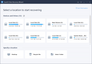 EaseUs Data Recovery Wizard Crack 13.6.0 + License Code 2020