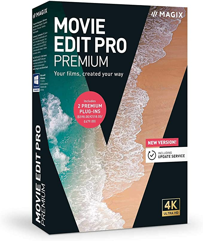 MAGIX Movie Edit Pro Premium 2021 20.0.1.65 Crack + Serial Key Latest