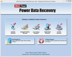 MiniTool Power Data Recovery 9.0 Crack + Serial Key 2020 Full Version