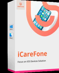 Tenorshare iCareFone 7.5.3 Crack + Serial Key (Mac/Win) 2021 Here