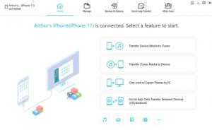 Tenorshare iCareFone 7.5.3 Crack + Serial Key Full Download 2021